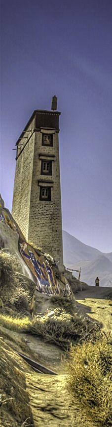 Monastery . Tibet