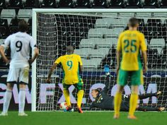 Djibril Cisse's late penalty snatches a point for for Kuban Krasnodor against Swansea in the Europa League.