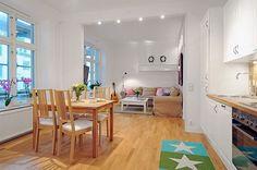 Visita un pequeño apartamento con ideas interesantes