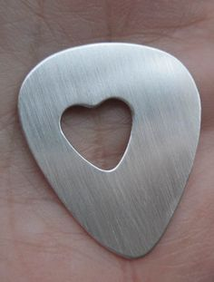 Sterling Silver Guitar pick