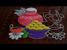Easy chukkala muggulu Sankranthi special kolam Thanks for watching 🙏🙏 Please like share comment below for more videos . Easy Rangoli Designs Diwali, Rangoli Designs Latest, Simple Rangoli Designs Images, Rangoli Designs Flower, Free Hand Rangoli Design, Rangoli Patterns, Rangoli Border Designs, Rangoli Designs With Dots, Beautiful Rangoli Designs