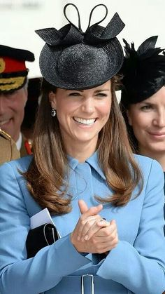 6 June 2014: The Duke and Duchess of Cambridge were in Arromanche on D-Day