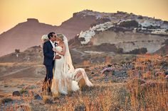 """After attending a wedding at Theros Wave Bar in Santorini, Jaimie-May and Terry knew they had to say """"I do"""" in their own elegant Greek celebration there! Wedding Blog, Wedding Styles, Couple Shots, Santorini Wedding, Destination Wedding Photographer, Wedding Couples, Elegant Wedding, Wedding Inspiration, Wedding Photography"""