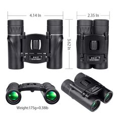 BeBison Compact Mini Zoom BinocularsLong Distance Folding HD Powerful Mini Telescope Kids love nature, and there's no way to increase their engagement with it more than by providing them with fun discovery tools. BeBison's Binoculars for Kids ar. Survival List, Retail Box, Keep An Eye On, Stargazing, Night Vision, Telescope, Hunting, Range, Camping
