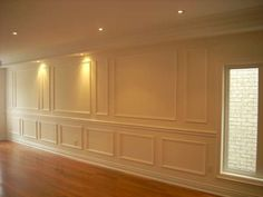 Full wall of WOW!! This room's already got lots of personality WITHOUT a stick of furniture. images of wainscoting - Google Search