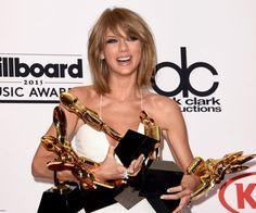 Taylor Swift made Billboard Music Awards history on Sunday night. That's because the singer received eight music awards, according to Billboard. She has received more awards in . Taylor Swift Cat, All About Taylor Swift, Taylor Alison Swift, Live Taylor, Billboard Music Awards 2016, Top Billboard, Robert Redford, Charli Xcx, Iggy Azalea