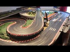 Carrera Digital - 6 Slot Cars on a two lanes track