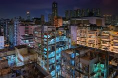 """Stairwells - On the roofs in Sham Shui Po, Hong Kong  <a href=""""http://www.peterstewartphotography.com"""">www.peterstewartphotography.com </a> <b> Follow my latest updates on: </b> <a href=""""http://facebook.com/PeterStewartPhotography""""> Facebook  