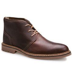 79df07212fa Squad Men s Brown Leather Chukka Boots I6201