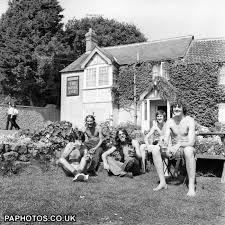 WATCHFILD PUB IN THE TOWN ..1975 HIPPIE FESTIVAL