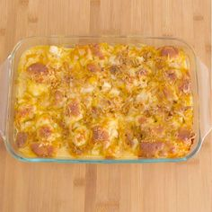 Cheesy Biscuit Chicken Bake! LIKE Cooking Panda for more delicious videos!!!