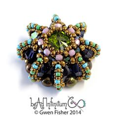 Hey, I found this really awesome Etsy listing at https://www.etsy.com/listing/186683592/rivoli-urchin-pendant-with-aqua-lime