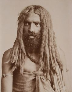 Untitled (a fakir)    Title: Untitled (a fakir)  Artist: Robert Hotz  Artist Bio: Swiss, active India, late 19th - early 20th century  Creation Date: late 19th century  Process: albumen print  Credit Line: Gift of Stephen White  Accession Number: 1983.073.076