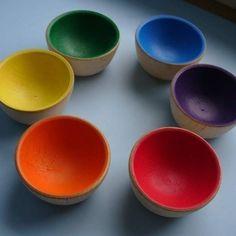 Montessori Sorting Bowls