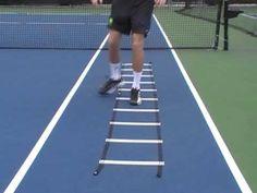 Tennis Conditioning Routine: Speed Ladder Drills