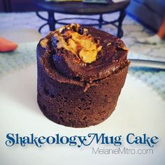 I needed something sweet and I wanted cake and this was amazing!!! Ingredients -1/4 tsp baking powder -1 scoop Shakeology -1 tbs sweetener of your choice -dash of salt -1 egg -optional mix in: peanut butter cocoa powder -2 or 3 tbs water/milk Directions -In a mug mix Shakeology baking powder salt cocoa and sweetener. -Next mix in an egg and 2-3 tablespoons of water/milk. -Mix until dry ingredients are wet. -If youd like to add peanut butter put one dollop in the center and push it down a…