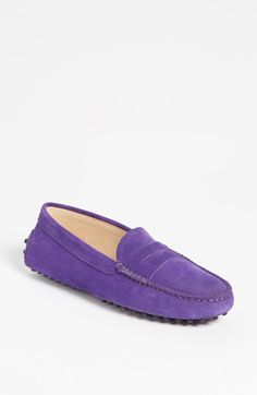 Tod's 'Gommini' Driving Moccasin so comfy, especially in suede. available at #Nordstrom