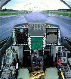 Saab Gripen Fighter Jet Cockpit