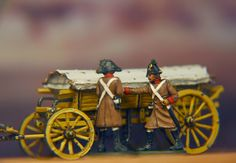 Austrian ammunition Wagon Hat Miniatures