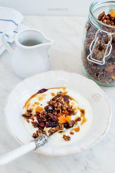 Homemade granola Granola, Homemade, Breakfast, Morning Coffee, Home Made, Muesli, Hand Made