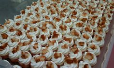 Lil' Bit of Heaven Cupcakes mini Strawberry Champagne Cupcakes for Charleston WV 2011 Bridal Expo