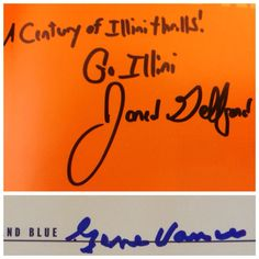 A Century of Orange and Blue (2 of 2): Jared Gelfond (in-person, gift), Gene Vance (in-person).
