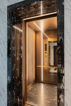Ajmera i-Land, Aeon and Zeon Towers Lift Design, Cabin Design, Door Design, Interior Stairs, Office Interior Design, Cabin Interiors, Office Interiors, Bronze Mirror, Mirror Glass