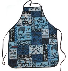 Print Aprons Tropical Hawaiian