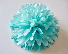 DIY - fleur en papier de soie. - BELIEVE IN YOU