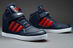 d07fe9daa918a adidas Originals AR 2.0 - Collegiate Navy / Red / Cyber Met. Smooth Leather,