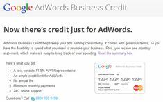 Google Credit Cards for Small Businesses