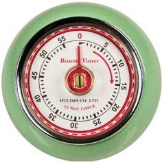 Retro kitchen timer, $9
