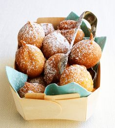 Vita's Ricotta Doughnuts - Looking for a tasty homemade treat? Check out this delicious donut recipe!