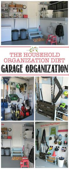 Creative Hacks Tips For Garage Storage And Organizations 60