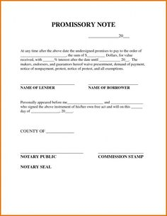 Invaluable image regarding free printable promissory note