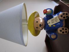 Paddington Bear nursery lamp/light. $29.99, via Etsy. Paddington Bear for Patty Cakes PB & PB
