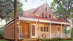 Nautical Cottage - 2016 Best-Selling House Plans