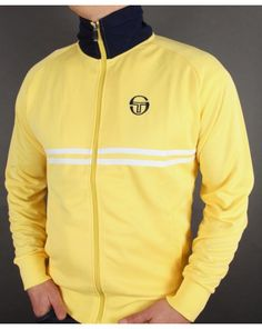 SERGIO TACCHINI DALLAS TRACK TOP YELLOW