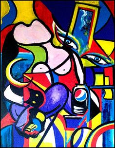 """""""Clin d'oeil à Picasso"""" by Emmanuelle Bochaton"""