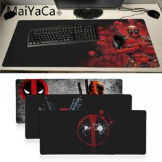 MaiYaCa Top Quality Deadpool iron Man High Speed New Mousepad Large Gaming Mouse Pad Lockedge Mouse Mat Keyboard Pad - Daily Buy Tips Pc Computer, Laptop Computers, Deadpool Iron Man, Cheap Mouse, Iron Man Wallpaper, Pc Mouse, Gamers, Rubber Material, High Speed