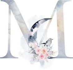 Flower Circle, Flower Art, Flower Backgrounds, Wallpaper Backgrounds, Monogram Wallpaper, Lion Drawing, Blue Nose Friends, Watercolor Lettering, Monogram Alphabet