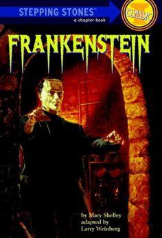 Frankenstein (A Stepping Stone Book) @ niftywarehouse.com #NiftyWarehouse #Frankenstein #Halloween #Horror #HorrorMovies #ClassicHorror #Movies