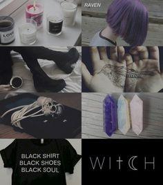 aesthetics: raven (teen titans)