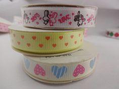 Big Sale Project 11pcs 3/8 9mm Grosgrain ribbon by SweetyDIY