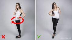 Dicas para escolher a melhor pose na foto