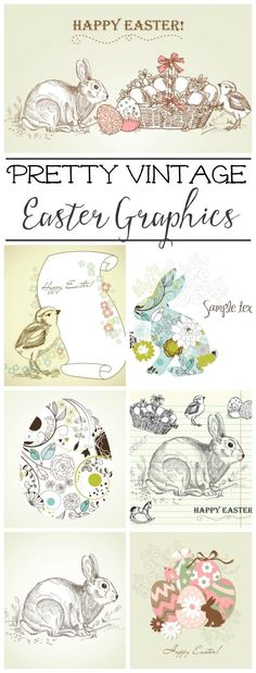 Learn how to wrap a plant to create a vintage inspired Easter planter for your Easter decor. Also makes a perfect hostess gift! Free printables included.