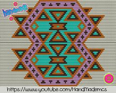 """The location where building and construction meets style, beaded crochet is the act of using beads to decorate crocheted products. """"Crochet"""" is derived fro Crochet Chart, Bead Crochet, Crochet Motif, Loom Patterns, Cross Stitch Patterns, Crochet Patterns, Tapestry Bag, Tapestry Crochet, Wiggly Crochet"""