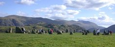Castlerigg Stone Circle, near Keswick, is one of the most visually impressive prehistoric monuments in Britain, and is the most visited stone circle in Cumbria.