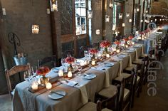 Christof & Cornelia - Coral and wood shades wedding decor by Love & Grace at Imperfect Perfection Wedding Venue