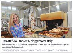 Un grazie speciale a The Roma Chic di Carolina! <3 <3 <3  Follow her!!!!!!!---------------Biscottificio Innocenti, Blog, Blogger, Grazie, Roma, Thank you, Thanks, Trastevere,